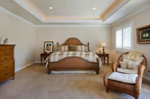 Tray Ceiling Bedroom Would It Look To Two Tray Ceilings In Master