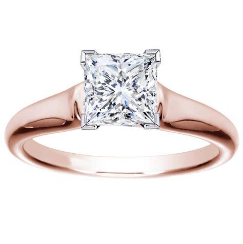 princess cut engagement rings yellow gold hd gold