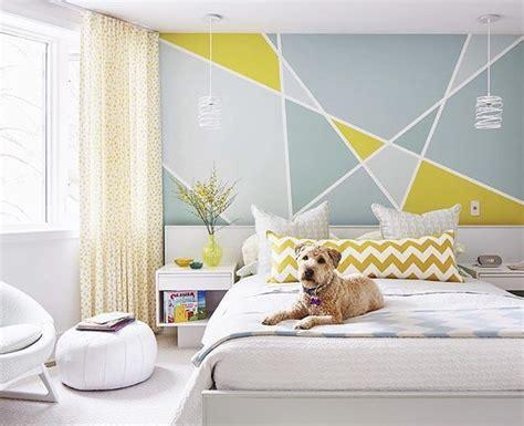 Desain Warna Cat Dinding Kamar | 20 desain dinding kamar tidur minimalis kreatif 2018