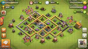 Coc Farming Base Th6 » Home Design 2017