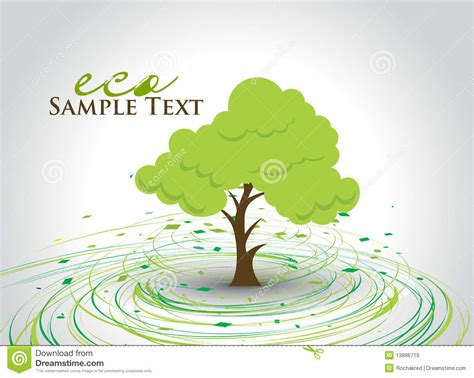 Green Eco Tree Royalty Free Stock Images Image 13886719 Green Eco Tree Vector Free