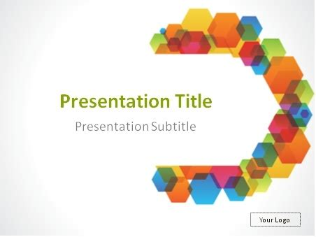 colorful powerpoint templates download colorful semicircle