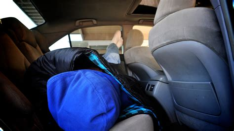 how to sleep in your car comfortably how to sleep comfortably in a car 15 steps with pictures