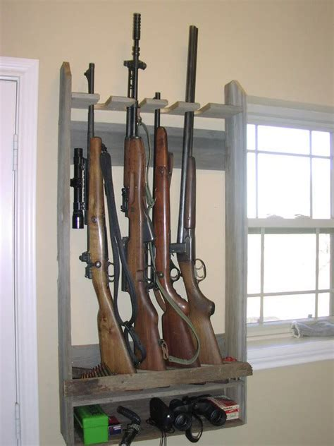 Gun Rack Patterns Free   WoodWorking Projects & Plans