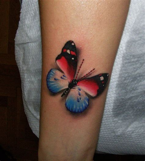 tattoo black and blue blue black and red butterfly tattoo tattoomagz