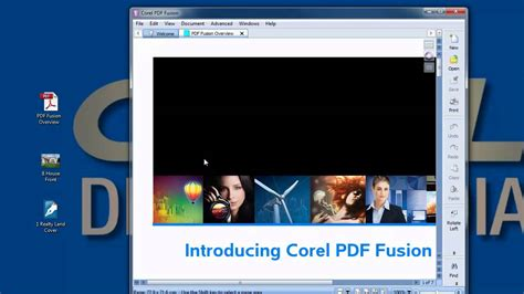 coreldraw open pdf pdf file watch how easy it is to use corel pdf fusion to