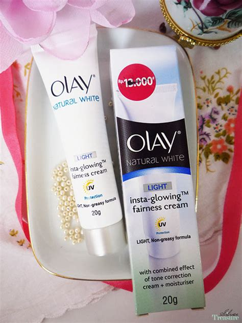 Olay Insta Glowing olay white insta glowing fairness silver