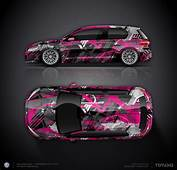 Design Concept 3 VW Golf GTI  Car Wrap