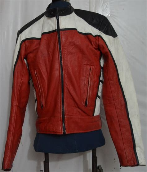 golden crown by bristol s motorcycle leather jacket