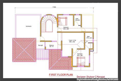 Kerala Villa Elevation And Plan At 2853 Sq Ft | kerala villa elevation and plan at 2853 square feet
