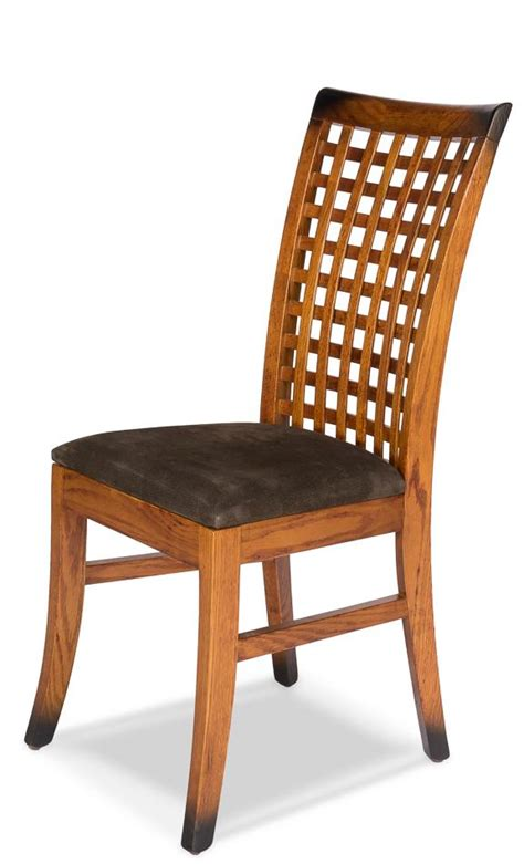 tropical birch dining room chairs  faux leather