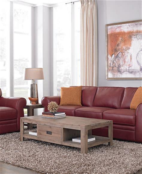 macys living room furniture carmine leather sofa living room furniture sets pieces