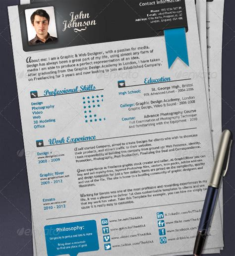 Resume Samples Easy by 45 Cv Resume Templates That Will Get You Hired Pixel Curse