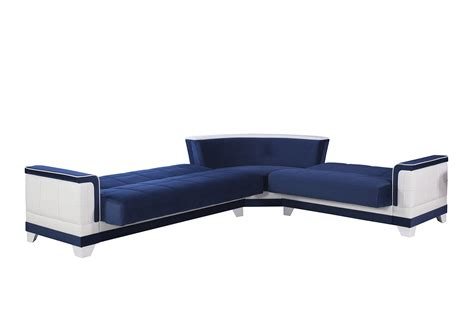 four sectional sofa four seasons riva blue sectional sofa by casamode