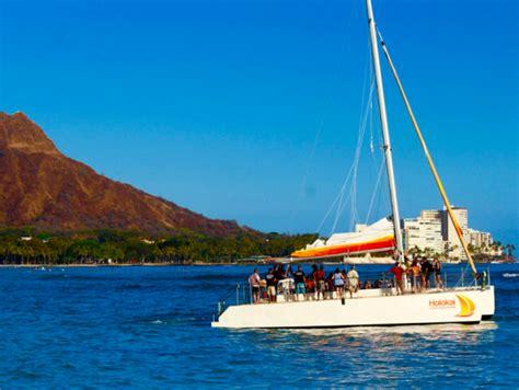 catamaran waikiki holokai catamaran waikiki sunset cocktail sail from