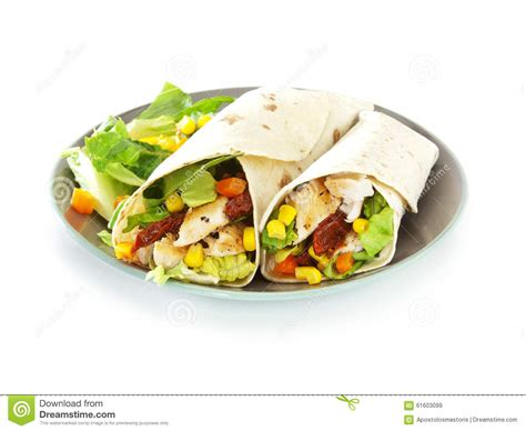 Sweet Tomatoes Gift Card - tortilla wraps stock photo image 61603099
