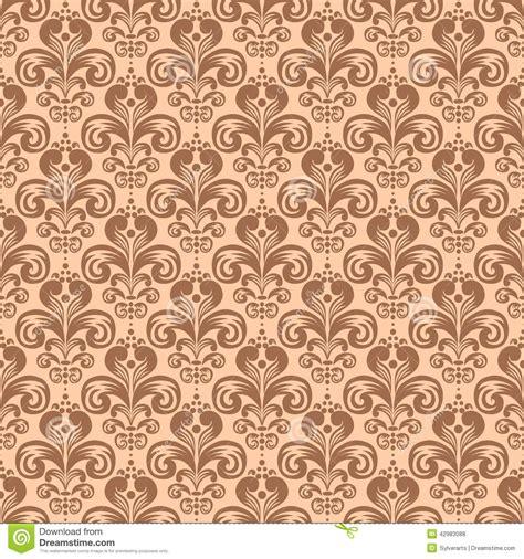 pattern victorian vector vector seamless pattern in victorian style cartoon vector