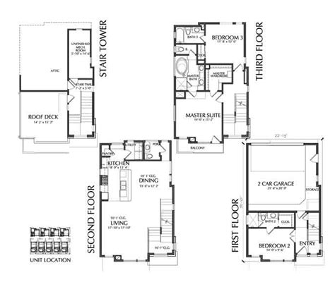 townhouses floor plans small townhouse floor plans for sale