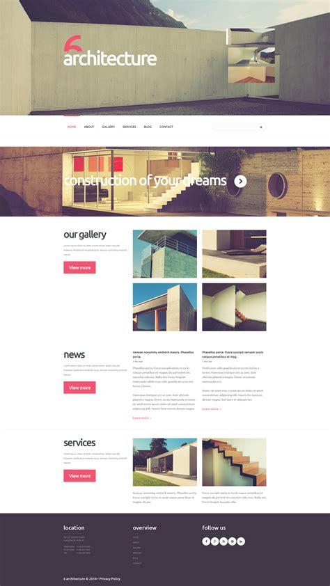 Joomla Design Vorlage joomla vorlage 52409 f 252 r architektur