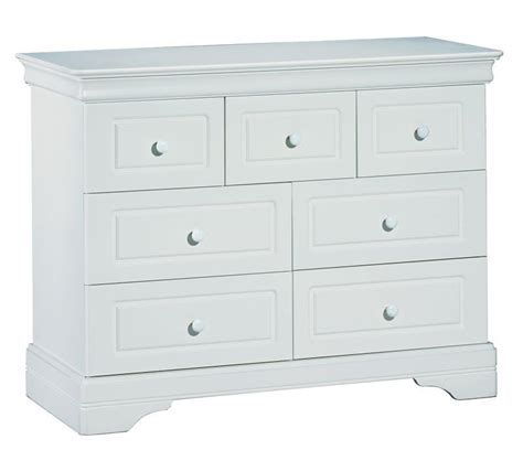 commode 7 tiroirs commode 7 tiroirs elodie gris au berceau d or