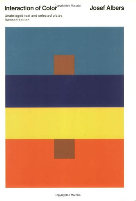 josef albers color theory interaction of color josef albers libri