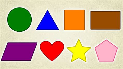 shapes and colors learn colors and shapes with coloring pages colouring