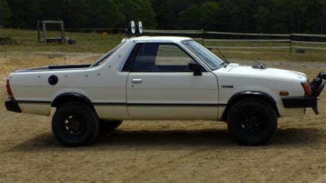 subaru brumby 1988 subaru brumby 4x4 for sale or qld