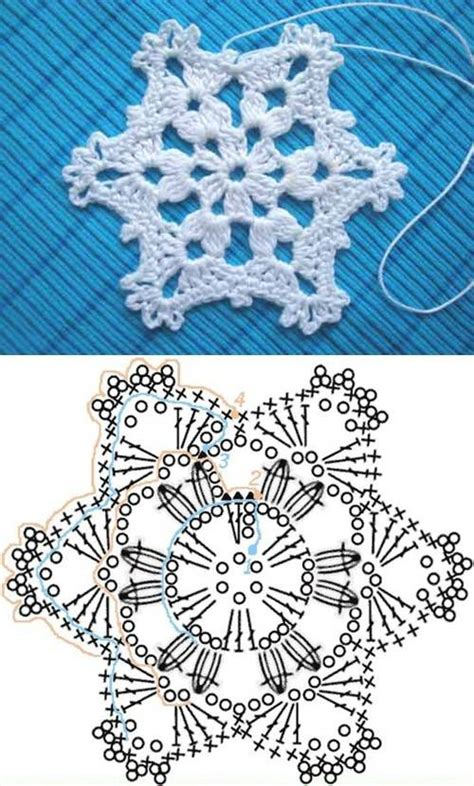 snowflake doily pattern wonderful diy crochet snowflakes with pattern crochet