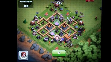 clash of clans layout strategy level 5 clash of clans town hall level 5 farming defense layout