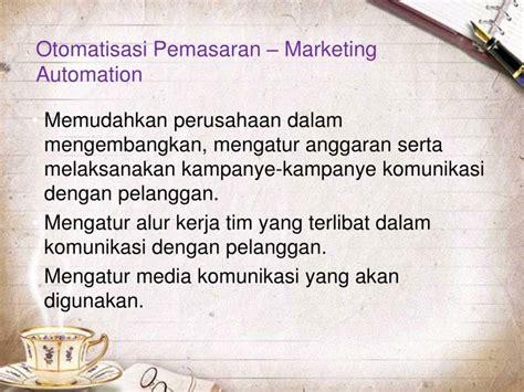 Manajemen Komunikasi Mengembangkan Bisnis Berorientasi Pelanggan ppt manajemen hubungan pelanggan crm powerpoint presentation id 5761763