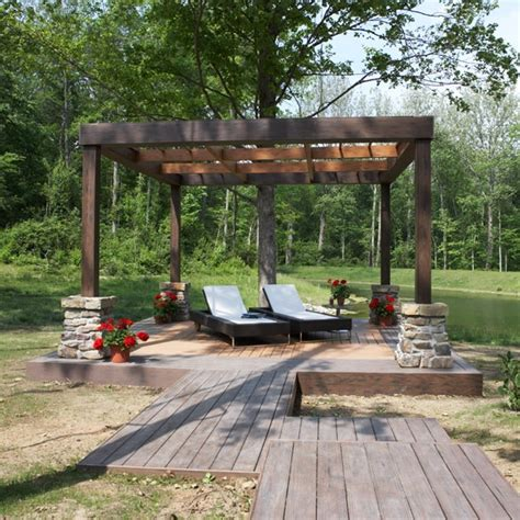 Images Of Backyard Decks by 35 Cool Outdoor Deck Designs Digsdigs