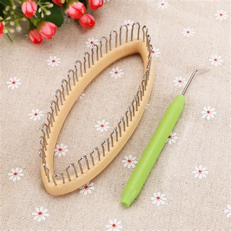 peg knitting loom hook tool kit for socks leg arm