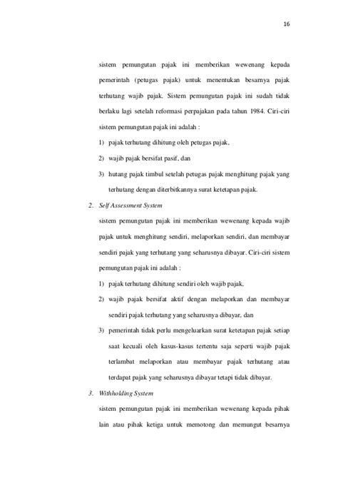 Hubungan Keuangan Antara Pemerintah Pusat Ahmad Yani analisis kontribusi pajak hotel pajak restoran pajak