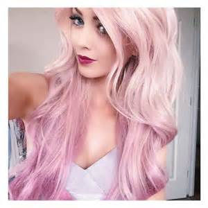 pink hair color coral pink hair color nail styling