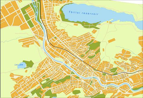 where is tbilisi on map file tbilisi detailed map jpg