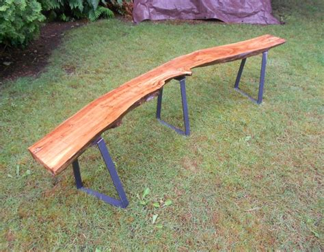 wood bench legs vintage wood benches with steel bench legs modern legs
