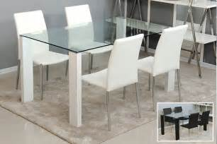 Contemporary Glass Dining Room Table Dress Up Your Dinner Table With These Modern Dining Table