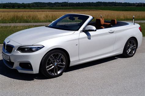 Bmw 2er Coupe Test by Bmw 2er Coupe Und Cabrio Facelift Erster Test Schon