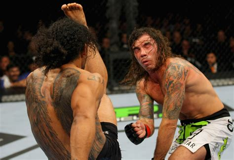 benson henderson back tattoo mma crossfire top 10 fights of 2011 wiseman s 6