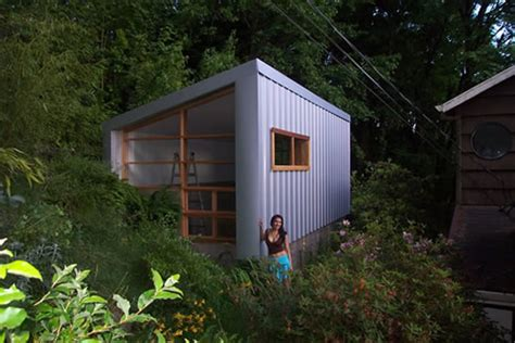 tiny house on foundation plans tiny house in portland