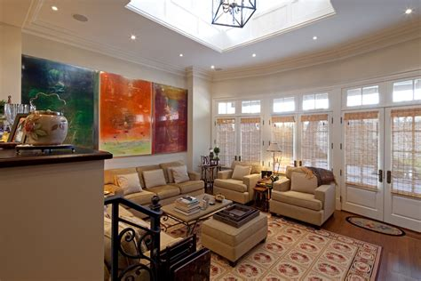 oversized wall oversized wall living room traditional with abstract