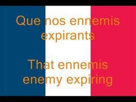 la marseillaise testo la marseillaise national anthem fr en