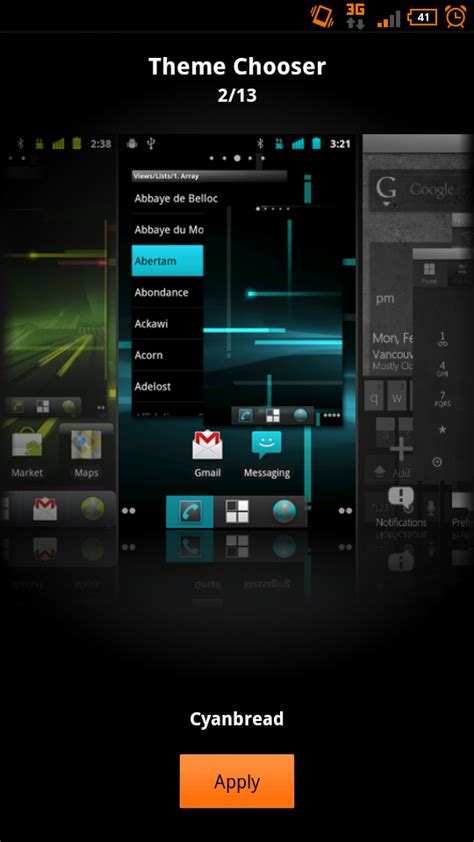 themes android central android primer t mobile theme chooser android central