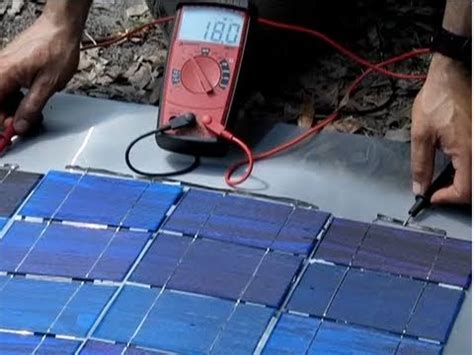 how to make a simple solar panel at home diy solar photovoltaic 1 a watt diy solar panel part 2 make your own solar cell panel wire