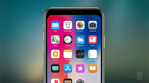 iphone notch don t like the iphone x notch here s 15 wallpapers that make it disappear phonearena