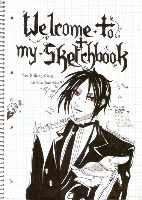 sketchbook anime 3rd sketchbook cover by boogiechan98 on deviantart