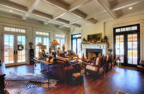 New Orleanian Plantation Style in the Texas Hill Country Eclectic Living Room other