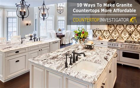 Best Price Granite Countertops by Granite Countertops Cost 10 Ways To Get Them For Less