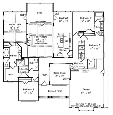wwwluxury2bedroomensuitegreatroomhomeplanscom traditional style house plan 4 beds 3 baths 2645 sq ft plan 927 478 floorplans
