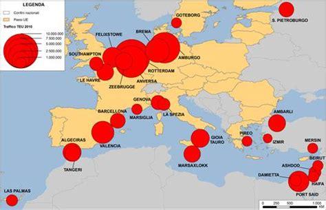 porti francesi 187 i flussi globali di container la recente evoluzione